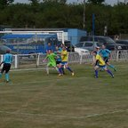 GEORGE CURRY'S CORNER CAUSES MAYHEM IN THE ARDLEY GOALMOUTH...