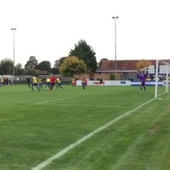 Abingdon United 1-3 Thatcham Town 3rd goal 22/10/16 Video Court of Robert Simpson-Jones