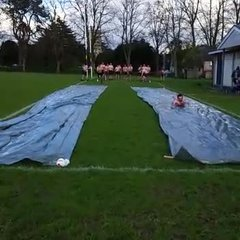 Slip and Slide THE RACE!