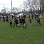Teddington U10s v Esher at the Staines festival