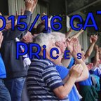 2015/16 gate prices announced