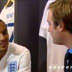 Soccer am - Tubes talks to Arsenal FC Theo Walcott