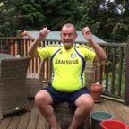 Ryman League vice-chairman Nick Robinson takes the Ice Bucket Challenge