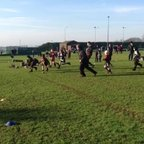 U8s awesome running, passing and scoring at Sherborne