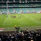 Ron scores at Twickenham