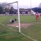 Chertsey Town v Dunstable Town - Sat 5th April 2014