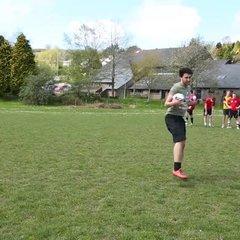Lostwithiel FC (Sunday Team) Crossbar Challenge!