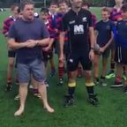 U15 Coaches ALS Ice Bucket Challenge