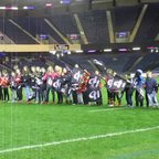 LRFC Girls - Guards of Honour at the Edinburgh v Grenoble European Rugby Challenge Cup fixture