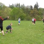 Girls Youth Team training with new coach Paul McGrotty
