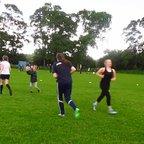 Girls Training session