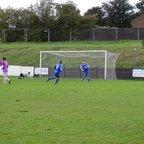 Wayne Cooke Penalty - Pinxton FC vs Southwell City