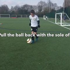 Vision Football Academy Skill of the month - The Reverse Pull Push