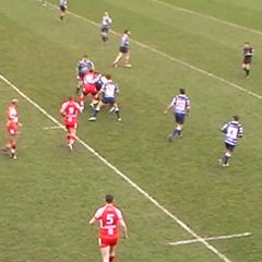 Lewis Price try vs Feath. Lions