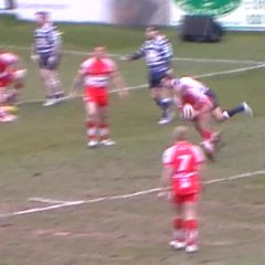 Hayward try vs Featherstone Lions
