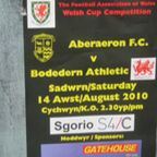 Aberaeron v Bodedern ar BBC Radio Cymru