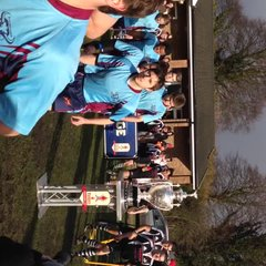 Chargers Start the Game past the Tetley's Challenge Cup