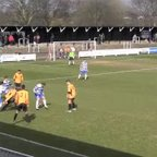 Cray Wanderers v Margate Highlights