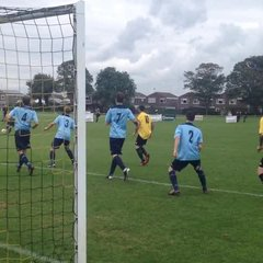 Goal mouth action v Hailsham