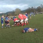 Blues V  Whitchurch 3rds 14/2/15 Try 5 -Duncan