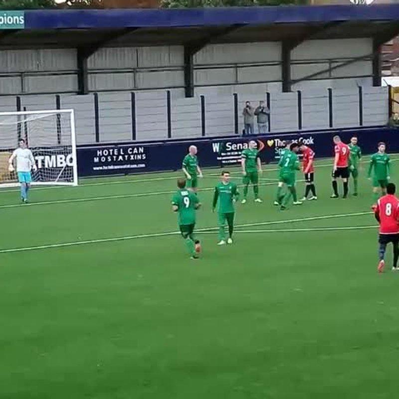 Burscough 22 October 2016 - The Goals