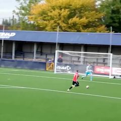 Ayrton Bevins scores for Hyde - 57 minutes