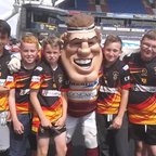 Big G with the Brighouse Rangers u12s.
