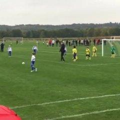 Lewis Taking a Free kick V Ascot