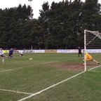 Jordan Rogers' penalty vs Didcot