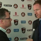 Boro TV - interview with Gavin Cowan after the Lincoln win (6th Oct 2014)