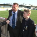Boro TV - interview with stadium sponsors Dave, James and Louise Parnell (6th April 2015)