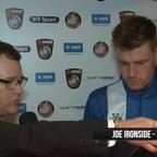 BoroTV - interview with Joe Ironside after the Harrogate Draw (1st March 2016)