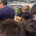 Under 12's Olympic Park Stadium Team Talk 29/08/15