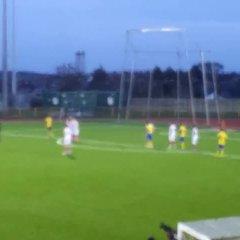 Jordan Cotterill scores free-kick vs Aberbargoed Buds