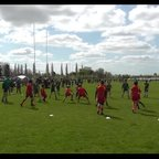 Stags U11's at Cambridge Festival - Jason's try