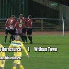 AFC Hornchurch v Witham Town - Ryman League Premier - 09 Dec 14