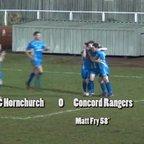 AFC Hornchurch v Concord Rangers - Essex Senior Cup Semi-Final - 24 February 15