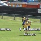 Dereham Town v AFC Hornchurch - Ryman Div 1N - 15 Aug 15