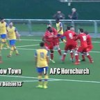 Harlow Town v AFC Hornchurch - Ryman League Division One North - 30 Jan 16
