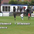 AFC Rushden & Diamonds v AFC Hornchurch - FA Cup - 03 Sep 16