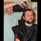Sam Davis Charity Haircut
