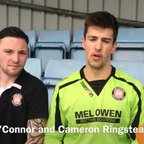O'Connor and Ringstead reflect on the win over Bala Town U19s