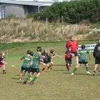 U11s v Penryn Teamwork and Samson tackle