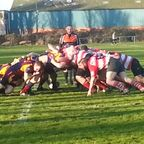 11/01/14 - Warley forwards in the scrum