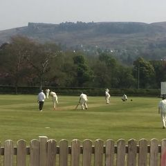 Tom Smallwood reaches 50 against Leeds Modernians