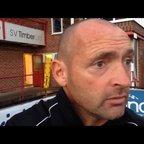 24-10-2015 - Ilkeston v Grantham Town - Grantham Town manager Adam Stevens