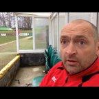 27-02-2016 - Skelmersdale United v Grantham Town - Grantham Town Manager Adam Stevens