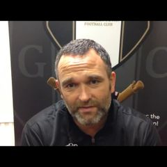 4-10-2016 - Grantham Town v Whitby Town - Grantham Town Assistant Manager Danny Martin