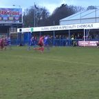 Johnson penalty v Mickleover Sports
