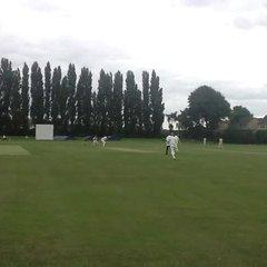 1st XI at Thornes 2013.